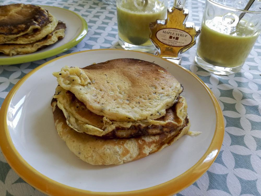 pancake fibre frutta
