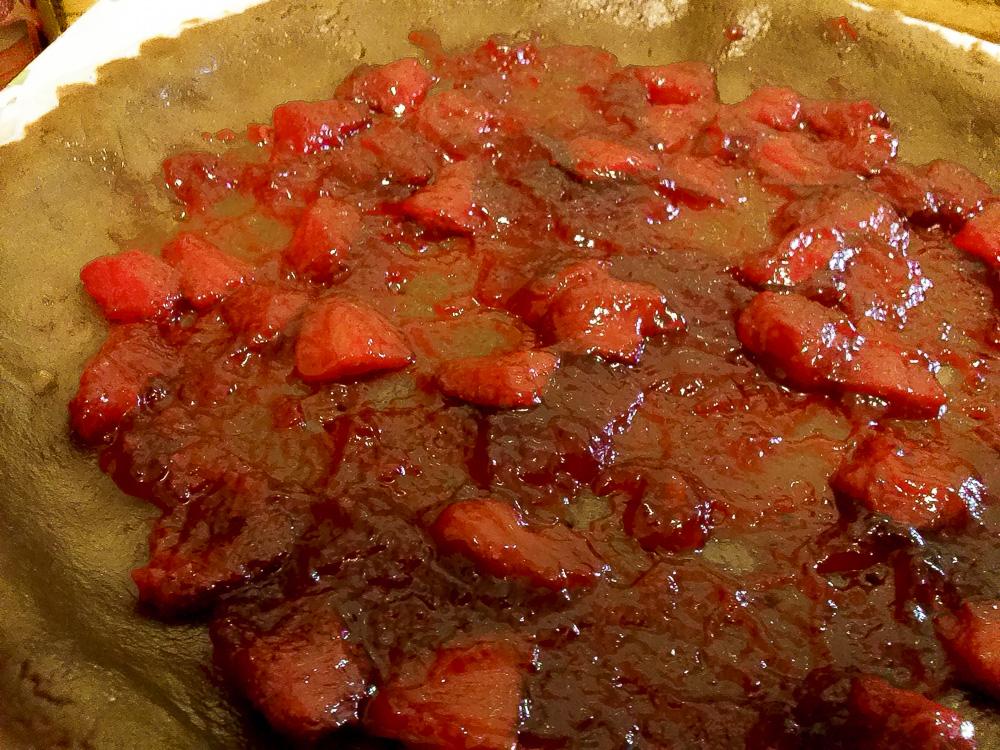 crostata fragole kamut