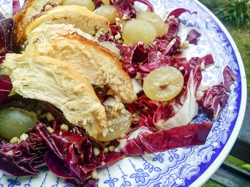 insalata di Capodanno con pollo