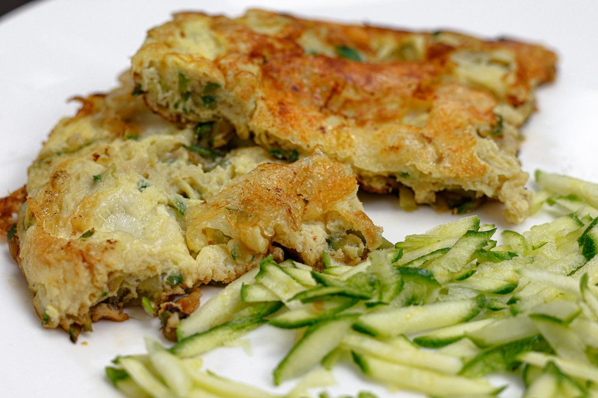 frittata mozzarella zucchine