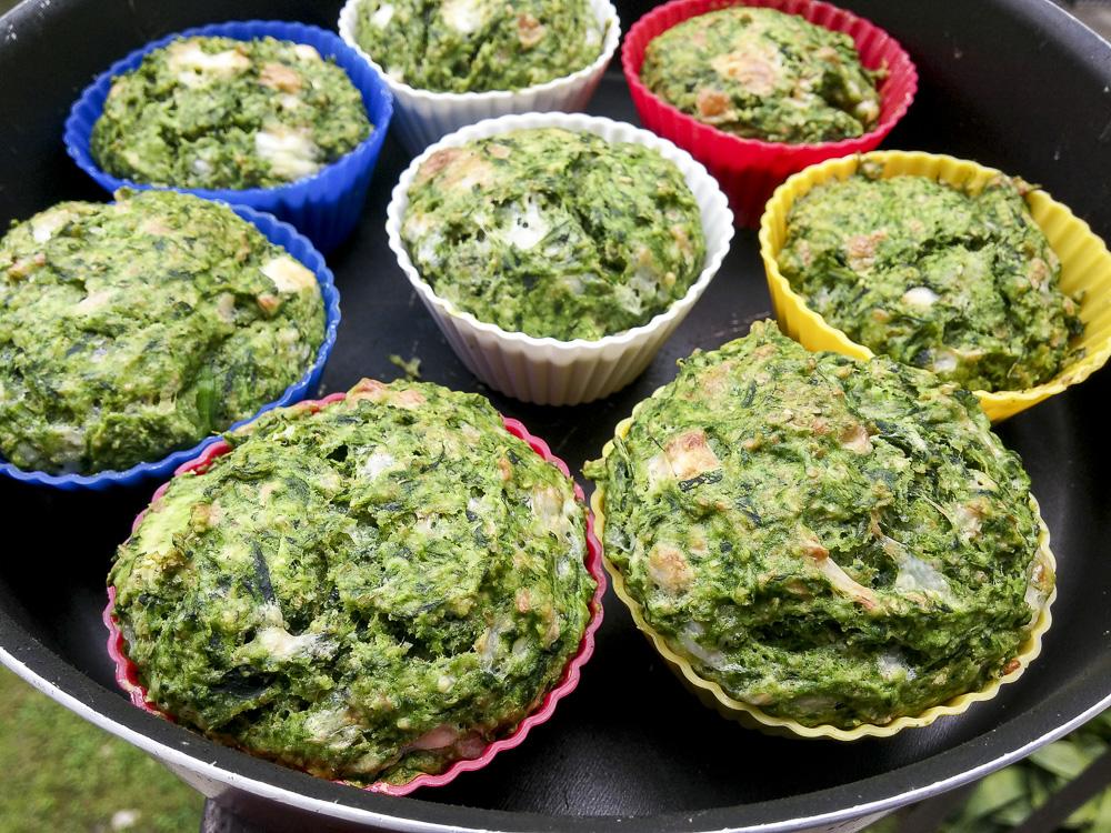 muffin bieta crescenza