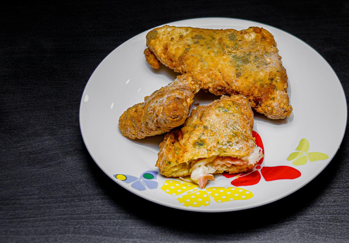 sandwich mozzarella in carrozza