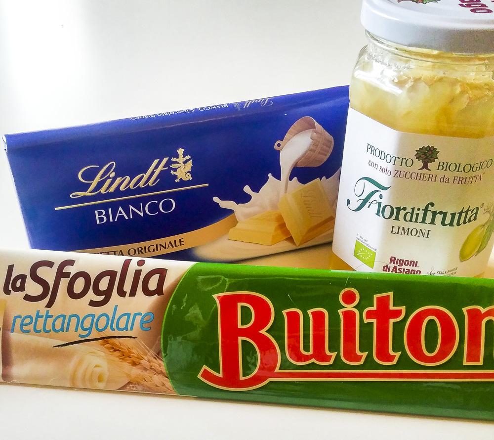 sfogliatelle insolite limone cioccolato bianco